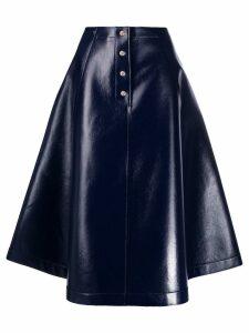 Sara Lanzi A-line midi skirt - Blue