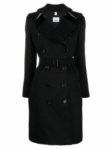 Burberry Kensington belted trench coat - Black