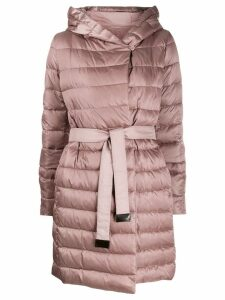 Max Mara reversible hooded coat - Pink