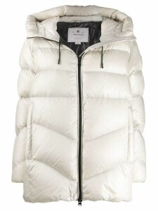Woolrich hooded padded coat - White