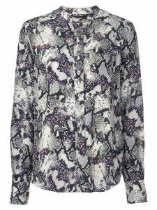 Isabel Marant Rusak snakeskin print blouse - Multicolour