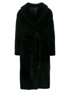 Desa 1972 longline coat - Black