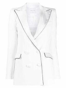 Hebe Studio double breasted blazer - White