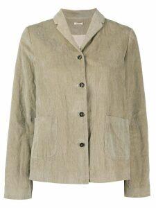 Apuntob button-up jacket - Neutrals