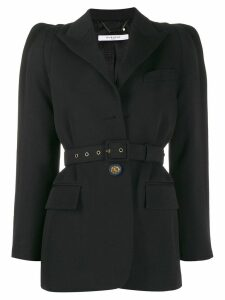 Givenchy belted single-breasted blazer - Black