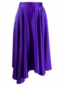 Styland high-low hem skirt - Purple
