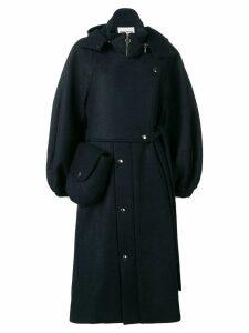 Henrik Vibskov Pump wool coat - Blue