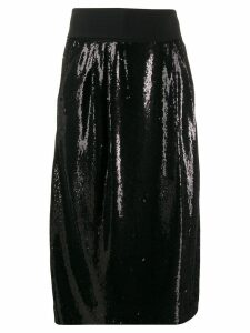 P.A.R.O.S.H. embellished pencil skirt - Black