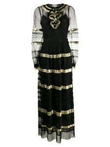 Temperley London Phantom pleated dress - Black