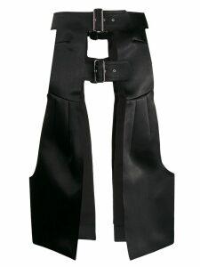 Comme Des Garçons armour style skirt - Black