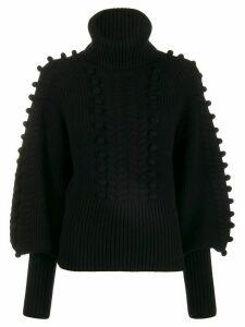 Temperley London Chrissie bobble detail sweater - Black