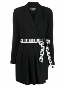 Boutique Moschino Piano waist dress - Black