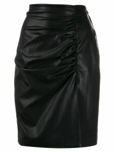 Nineminutes side slit skirt - Black