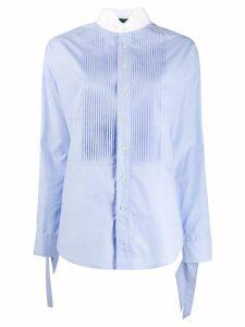 Jejia pleated bib shirt - Blue