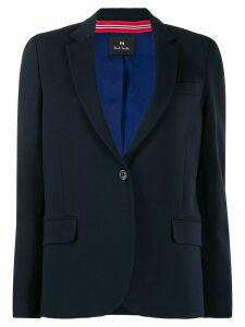 PS Paul Smith narrow lapel blazer - Blue