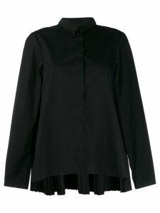 Rundholz Black Label back pleated shirt