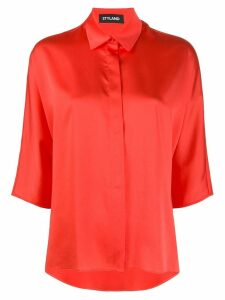 Styland three-quarter sleeve shirt - Red