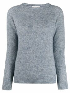 Zanone crew neck jumper - Blue
