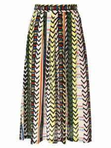 Être Cécile Earn Your Stripes Amelie skirt - Black