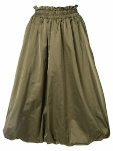 Goen.J balloon taffeta skirt - Green