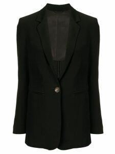 CK Calvin Klein one-button blazer - Black