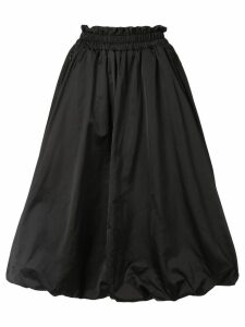 Goen.J balloon taffeta skirt - Black