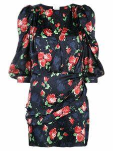 Magda Butrym floral mini dress - Blue