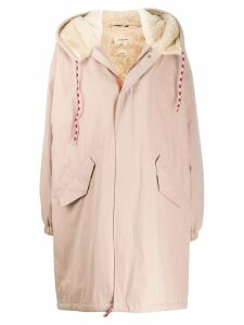 Bellerose lined parka coat - Pink