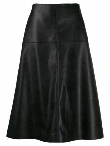 Stella McCartney high-waisted A-line skirt - Black