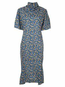 CAMILLA AND MARC Majella printed dress - Blue