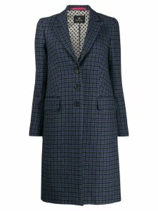 PS Paul Smith fitted button coat - Blue