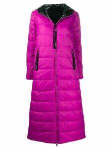 Pinko hooded padded coat - Purple