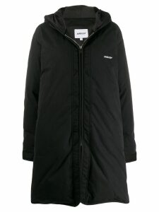Ambush padded hooded coat - Black