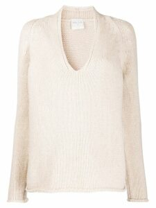 Forte Forte v-neck jumper - Neutrals