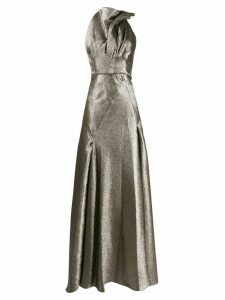 Maticevski sleeveless long gown - Metallic