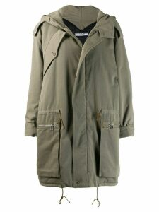 Katharine Hamnett London mid-length parka coat - Green