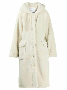 STAND STUDIO faux shearling coat - Neutrals