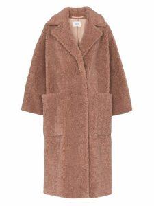 Nanushka Imogen faux fur coat - Pink