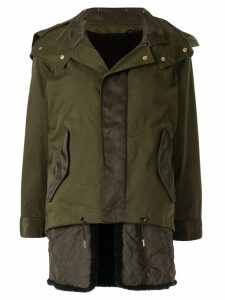 Guild Prime hooded military jacket - Green