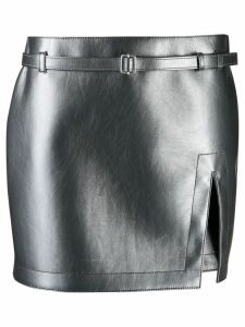 Philosophy Di Lorenzo Serafini slit mini skirt - Grey