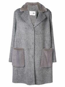 Manzoni 24 cocoon coat - Grey