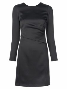 Amsale fitted cut out back dress - Black