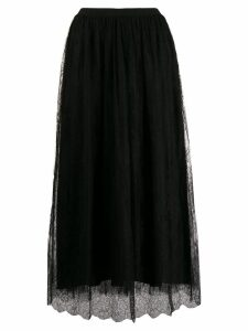Fabiana Filippi flared midi skirt - Black
