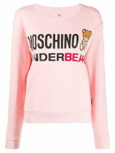 Moschino Underbear sweatshirt - Pink