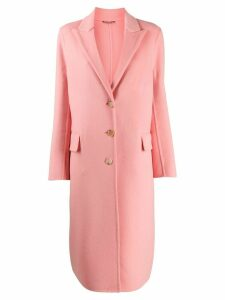 Ermanno Scervino single breasted coat - Pink