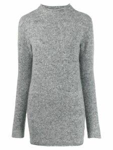 Agnona turtle-neck jumper - Grey