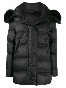 Peuterey hooded padded coat - Black