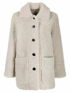Zadig & Voltaire Magdas reversible coat - Neutrals