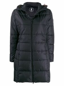 Save The Duck hooded padded coat - Black