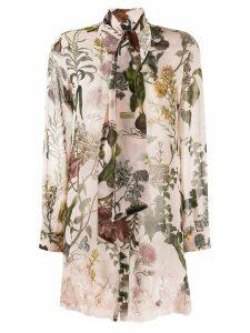 Ermanno Ermanno printed floral blouse - Pink